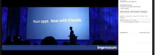 Impressum auf Facebook – das leidige Thema