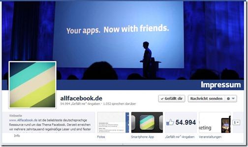 Allfacebook.de (Startseite)