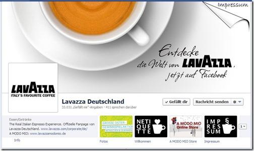 Lavazza (Startseite)