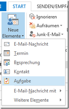 welche outlook varianten git es